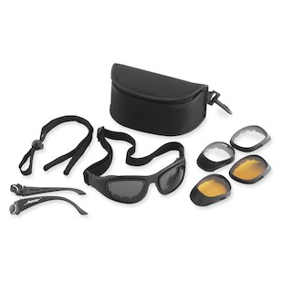 Bobster Sport And Street II Goggles / Sunglasses (Color: Black) 147041