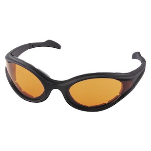 Bobster Foamerz Sunglasses (Color: Black / Lens: Amber) 147053