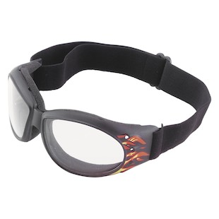 Bobster Flame Cruiser Goggles (Color: Clear) 147059