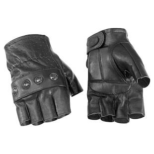 River Road Carlsbad Fingerless Gloves (Color: Black / Size: XL) 141474