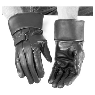 River Road Custer II Gauntlet Gloves (Color: Black / Size: 3XL) 141553