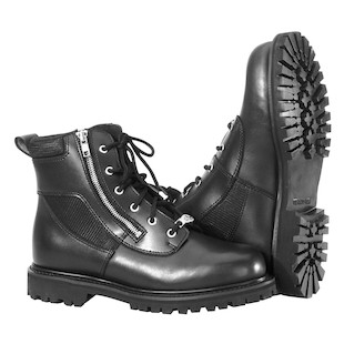 River Road Side-Zip Highway Boots (Color: Black / Size: 11) 142322