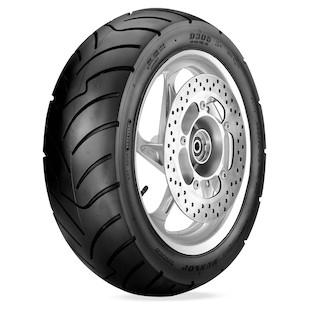 dunlop d305 sx01f scooter tire wheel location rear tire size 150