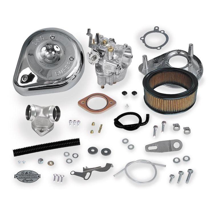 S&S Cycle Super E Carburetor Kit For Harley Evo Sportster 2004-2006