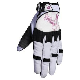 Joe Rocket Heartbreaker Women's Gloves (Color: White/Purple / Size: MD) 208170