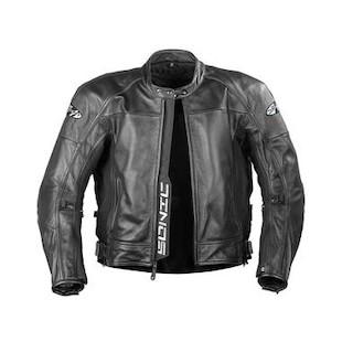 Joe Rocket Sonic 2.0 Leather Jacket (Color: Black/Black / Size: 4XL) 205383