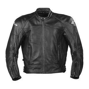 Joe Rocket Sonic 2.0 Perforated Leather Jacket (Color: Black / Size: 4XL) 205397