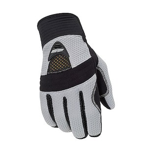 Tour Master Airflow Women's Gloves (Color: Silver / Size: MD) 287705
