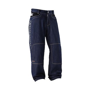 Icon Insulated Denim Pants (Color: Blue / Size: 40) 294574