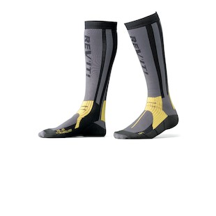 REV'IT! Tour Summer Socks (Color: Grey/Yellow / Size: 35-38) 319205