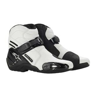 Alpinestars S-MX 2 Vented Boots (Color: White / Size: 49) 304390