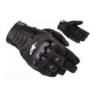 Alpinestars Alloy Gloves (Size SM Only) (Color: Black / Size: SM) 306207