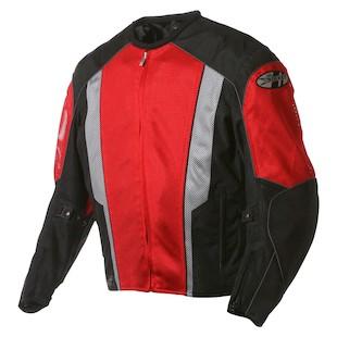 Joe Rocket Phoenix 5.0 Jacket (Color: Red/Black / Size: SM) 373037