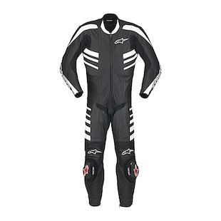 Alpinestars CR One-Piece Suit (Size 58) (Color: Black / Size: 62) 441033