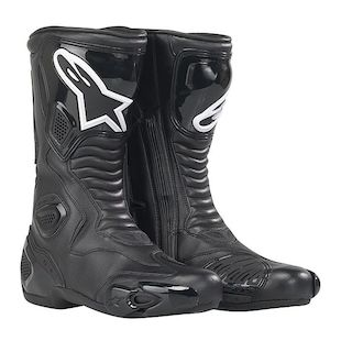 Alpinestars Stella S-MX 5 Boots (Color: Black / Size: 39) 440120