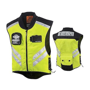 Icon Mil-Spec Mesh Vest (Color: Yellow / Size: XL-3XL) 418864