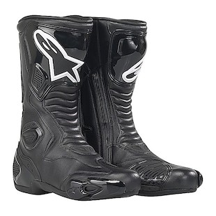 Alpinestars S-MX 5 Waterproof Boots (Size 40 Only) (Color: Black / Size: 40) 440107