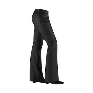 Icon Hella Women's Leather Pants (Color: Black / Size: 1) 504409