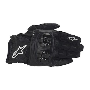 Alpinestars Atlas Gloves (Color: Black / Size: SM) 506330