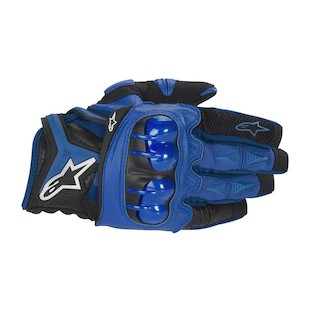 Alpinestars Atlas Gloves (Color: Blue / Size: LG) 506344