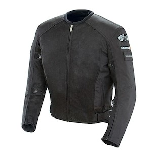 Joe Rocket Recon Mesh Military Spec Jacket (Color: Black/Black / Size: LG) 507458