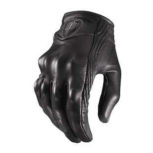 Icon Pursuit Stealth Gloves (Color: Stealth Black / Size: MD) 294868
