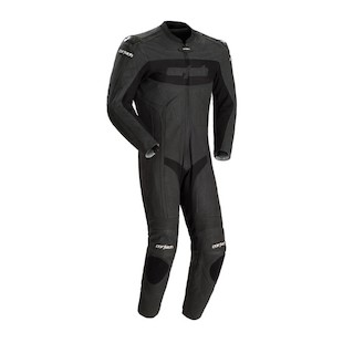 Cortech Latigo RR 1-Piece Race Suit (Color: Flat Black / Size: MD) 510744