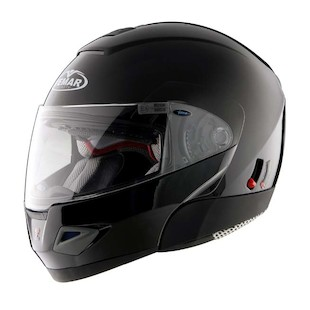 Vemar Jiano Modular Solid Helmet (XS & 2XS) (Color: Black / Size: 2XS) 502831