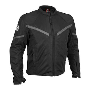 Firstgear Rush Mesh Jacket (Color: Black / Size: MD) 527307