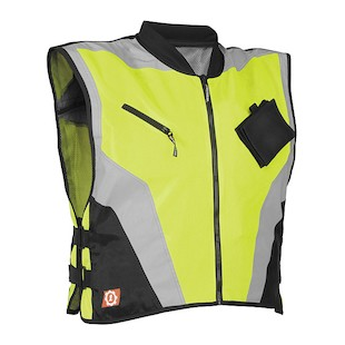 Firstgear Military Spec Vest (Color: Yellow / Size: MD-LG) 527205