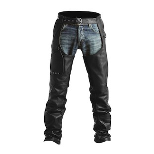 Pokerun Outlaw 2.0 Chaps (Color: Black / Size: MD) 533714