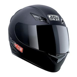 AGV K3 Helmet - Solid (Color: Flat Black / Size: XL) 595311