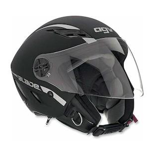 AGV Blade Helmet - Solid (Color: Flat Black / Size: LG) 595510