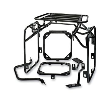 moose racing expedition luggage rack system klr650 1987