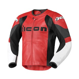 Icon Overlord Prime Jacket (Color: Red / Size: SM) 722392