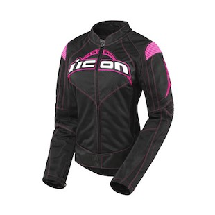 Icon Contra Women's Jacket (Color: Black/Pink / Size: LG) 722480