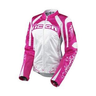 Icon Contra Speed Queen Jacket (Color: Pink / Size: 2XL) 722495