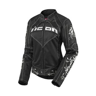 Icon Contra Speed Queen Jacket (Color: Black / Size: XS) 722484