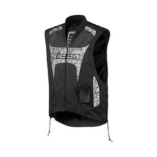 Icon Interceptor Reflective Vest (Color: Black / Size: SM-MD) 722505