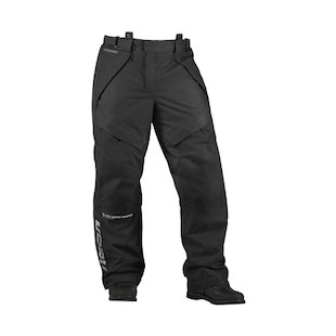 Icon Patrol Waterproof Overpants (Color: Black / Size: SM) 722541
