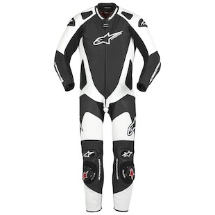 Alpinestars GP-Pro Race Suit (Color: Black/White / Size: 60) 722116