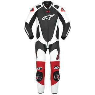 Alpinestars GP-Pro Race Suit (Color: Black/White/Red / Size: 56) 722121