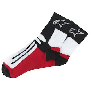 Alpinestars Short Road Race Socks (Size: LG-XL) 721617