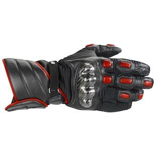 Alpinestars Vega Drystar Glove (Color: Black/Red / Size: LG) 721632