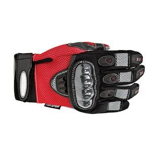 AGV Sport Mayhem Short Gloves (Color: Red / Size: SM) 615338