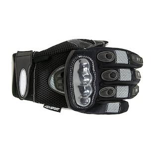 AGV Sport Mayhem Short Gloves (Color: Black / Size: XL) 615331