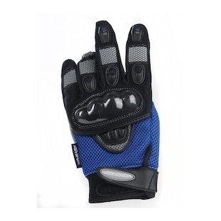 AGV Sport Mayhem Short Gloves (Color: Blue / Size: XL) 615337