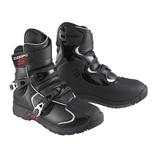 Fox Racing Comp 5 Shorty Boots (Color: Black / Size: 12)