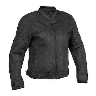 River Road Sedona Women's Mesh Jacket (Color: Black / Size: W2XL) 710285