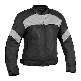 River Road Sedona Women's Mesh Jacket (Color: Black/Grey / Size: WSM) 710286